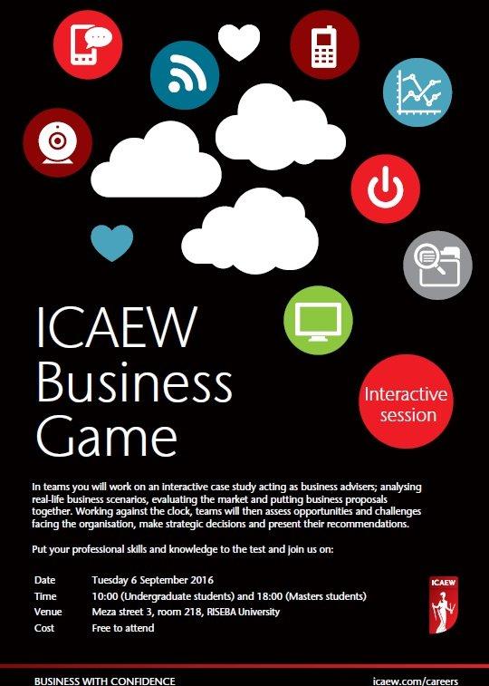 Business simulation game | riseba lv