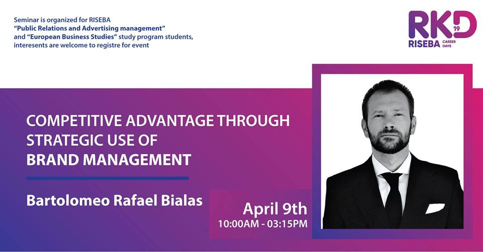 Open Guest Lecture: Brand Management