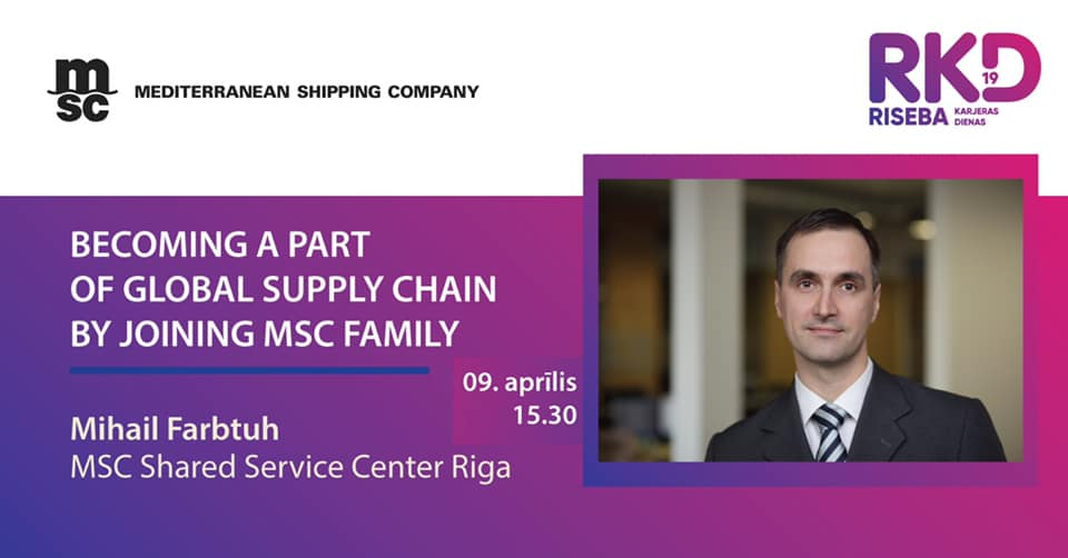 Becoming a part of global supply chain by joining MSC family