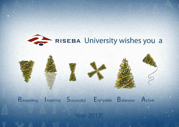 RISEBA wishes a Happy New Year! | riseba.lv