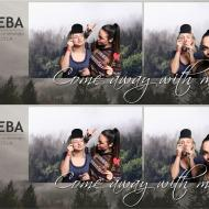 RISEBA Christmas ball photobox